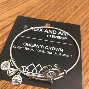 Queens Crown Alex and Ani Bracelet